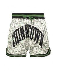 Chinatown Market Money Arc Basketball Shorts - Black