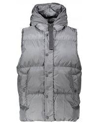 NEMEN Sid Down Vest - Gray