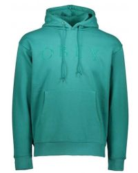 Obey Construct Hood - Green