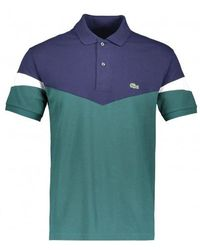 Lacoste - Colorblock Polo - Lyst