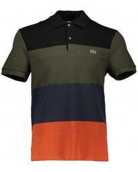 Lacoste Stripe Polo Shirt - Multicolour