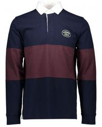 Lacoste Rugby Shirt - Blue