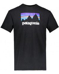 Patagonia - Shop Sticker Responsibili-tee T-shirt - Lyst