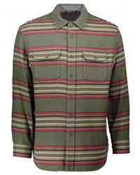 Pendleton Beach Shirt - Green