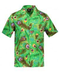 Stussy Peacock Shirt - Green