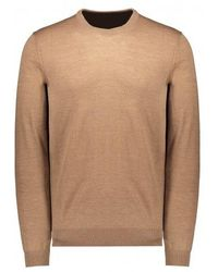 NN07 Ted Knitted Jumper - Brown