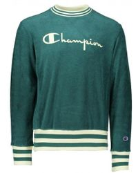 Champion - Towelling Sweater - Lyst
