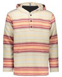 Pendleton Serape Long Sleeve Hoody Popover - Multicolour