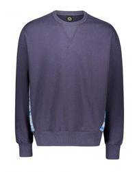 FRIZMWORKS Tie Dye Block Sweatshirt - Blue