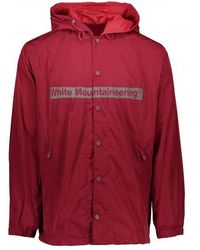 White Mountaineering - Logo Hooded Coach Jacket - Lyst