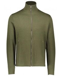 Norse Projects Fjord Tech Cardigan - Green