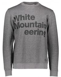 White Mountaineering Logo Printed Sweatshirt - Grey