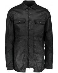 Rick Owens Drkshdw Cargo Pocket Shirt - Black