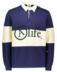 Alife Rugby Shirt - Blue