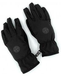 Stone Island Gloves - Black