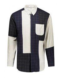 Engineered Garments Combo Ivory Short Collar - White