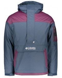 Columbia Challenger Pullover - Blue