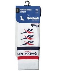 Reebok - Vector Crew Sock - Lyst