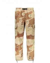 Stussy Camo Taped Seam Cargo Pant - Natural
