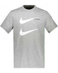 Nike Sportswear Swoosh T - Grey