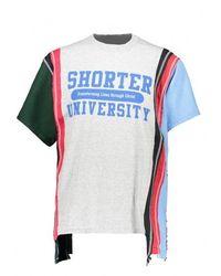 Needles 5 Cuts Ss University Tee - Multicolour