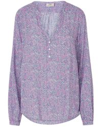 Pyrus - Lizzie Blouse In Dizzy Paisley - Lyst
