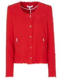 IRO - Agnette Jacket In Poppy Red - Lyst