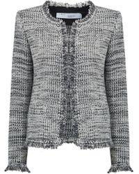 IRO - Unplug Jacket In Grey - Lyst