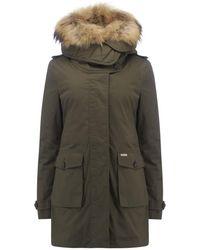 Woolrich Scarlett Eskimo 3-in--1 Parka Coat - Green