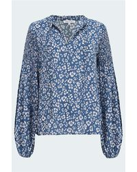 Lily and Lionel Stevie Blouse - Blue