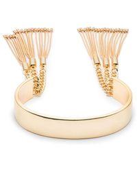 Trina Turk - Golden State Tassel Cuff Bracelet - Lyst