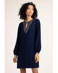 Trina Turk Tangle Dress - Blue