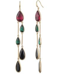 Trina Turk Another Round Linear Drop Earring