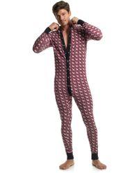 Mr Turk - Hound Print Union Suit - Lyst