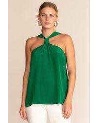 Trina Turk Locket Top - Green