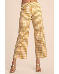 Trina Turk Mason Crop Pant - Multicolour