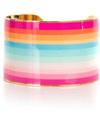 Trina Turk Anniversary Stripe Cuff - Pink