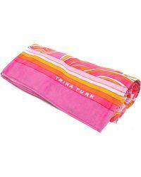 Trina Turk Morning Sunrise Beach Towel - Pink