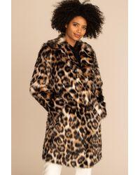 Trina Turk Dianella Coat - Natural