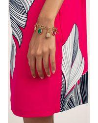 Trina Turk Signature Trina Charm Bracelet - Metallic