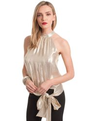 Trina Turk - Champagne Cocktail Top - Lyst
