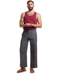 Mr Turk - Genet Wide Leg Trouser - Lyst