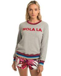 Trina Turk - Hola La Sweatshirt - Lyst