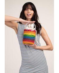 Poolside Marley Rainbow Bucket Bag - Multicolour