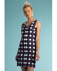 Trina Turk Jungle Island Dress - Blue