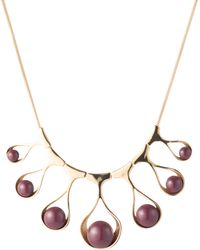 Trina Turk - Wavy Teardrop Collar Necklace - Lyst