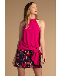 Trina Turk Champagne Cocktail Top - Pink