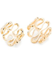Trina Turk - Gold Rush Wavy Ring Set - Lyst