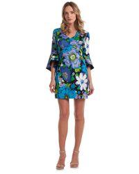 Trina Turk Winnie Dress - Blue