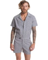 Mr Turk - Alameda Short Jumpsuit - Lyst